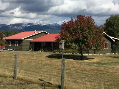 Flathead County Single Family Home Under Contract Taking Back-Up : 615 Swan River Road