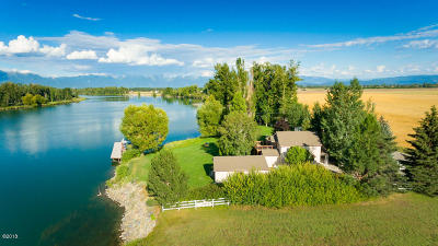 Flathead County Single Family Home For Sale: 845 Lower Valley Road