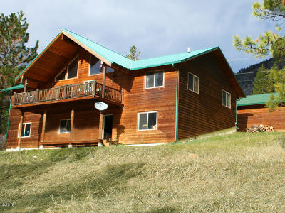 Sanders County Single Family Home For Sale: 6312 Mt Highway 200