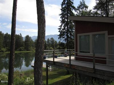 Flathead County Single Family Home For Sale: 789 Swan River Road