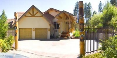 Flathead County Single Family Home For Sale: 325/335 Hughes Bay
