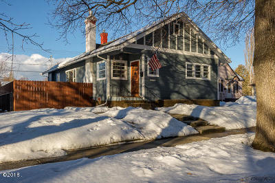 Kalispell MT Single Family Home Under Contract Taking Back-Up : $259,900