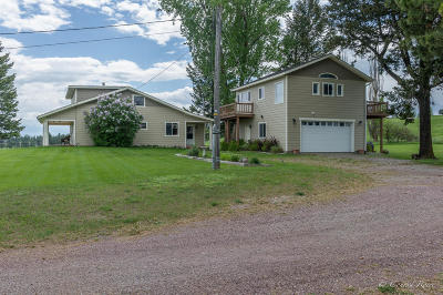 Flathead County Single Family Home For Sale: 4018 Whitefish Stage Road