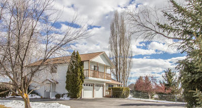 Missoula Single Family Home Under Contract Taking Back-Up : 7950 Stegner Drive