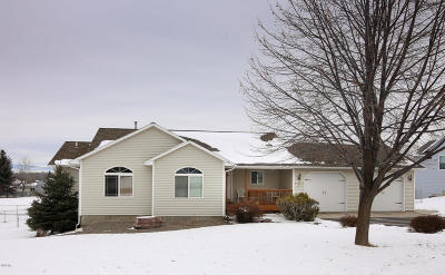 Missoula Single Family Home Under Contract Taking Back-Up : 5042 Geraldine Court