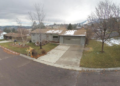Missoula Single Family Home Under Contract Taking Back-Up : 3010 Eldora Lane
