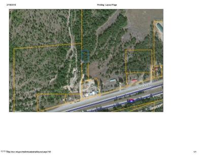 Mineral County Residential Lots & Land For Sale: 116 Deborgia-Haugan Frontage Road