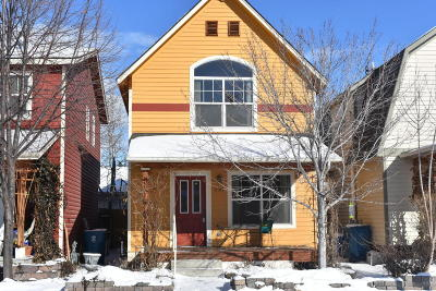 Missoula Single Family Home Under Contract Taking Back-Up : 2122 West Kent Street