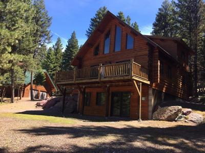 Seeley Lake Single Family Home Under Contract Taking Back-Up : 941 Stage Coach Drive