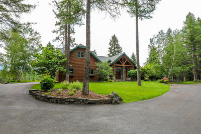 Flathead County Single Family Home For Sale: 10 Sky Lane