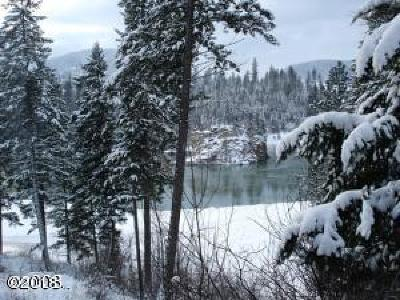 Lincoln County Residential Lots & Land Under Contract Taking Back-Up : 2862 Kootenai River Road