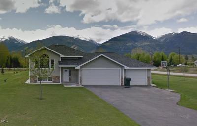 Florence MT Single Family Home Under Contract Taking Back-Up : $319,900