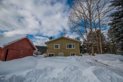 Bigfork Single Family Home Under Contract Taking Back-Up : 162 Seven Hills Estates