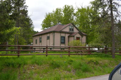 Whitefish Single Family Home For Sale: 2033 Lion Mountain Loop Road