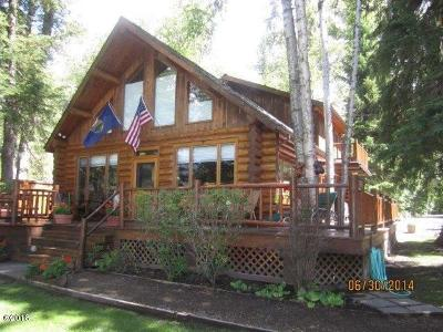 Bigfork MT Single Family Home Under Contract Taking Back-Up : $799,000