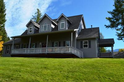Columbia Falls, Hungry Horse, Martin City, Coram Single Family Home Under Contract Taking Back-Up : 220 Larch Ridge
