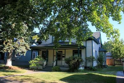 Missoula Single Family Home Under Contract Taking Back-Up : 336 South 3rd Street West