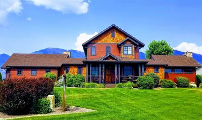 Kalispell Single Family Home For Sale: 1019 Blue Grouse Drive