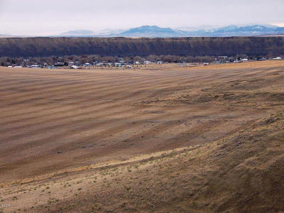 Fort Benton Residential Lots & Land For Sale: Nhn Hwy 87