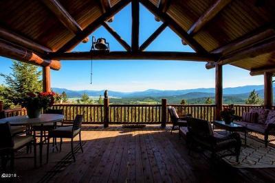 Flathead County Single Family Home For Sale: 1289 Yodel Dog Peak