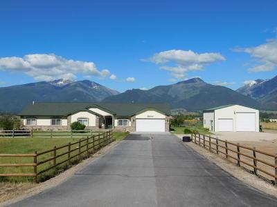 Stevensville Single Family Home For Sale: 362 Moiese Lane