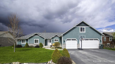 Florence MT Single Family Home Under Contract Taking Back-Up : $359,000