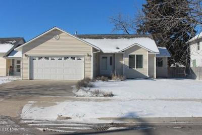 Missoula Single Family Home Under Contract Taking Back-Up : 635 Lafray Lane