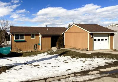 Missoula Single Family Home Under Contract Taking Back-Up : 2236 East Vista Drive