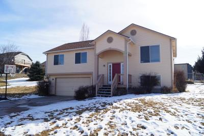Missoula Single Family Home Under Contract Taking Back-Up : 2515 Blackthorn Drive