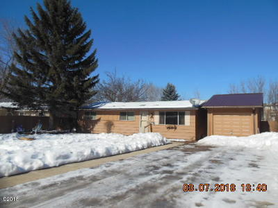 Kalispell Single Family Home Under Contract Taking Back-Up : 609 West Arizona Street