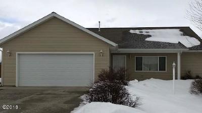 Kalispell Single Family Home For Sale: 3107 Sweetgrass Lane