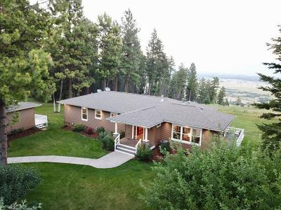 Flathead County Single Family Home For Sale: 74 Wolf Trail Road
