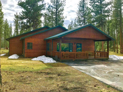 Seeley Lake Single Family Home Under Contract Taking Back-Up : 677 Timberlane