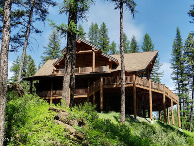Flathead County Single Family Home For Sale: 7254 Farm To Market Road