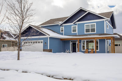 Kalispell Single Family Home Under Contract Taking Back-Up : 150 Taelor Road