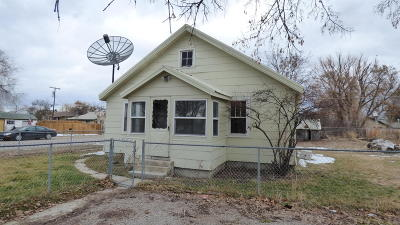 Missoula Single Family Home Under Contract Taking Back-Up : 2166 South 12th Street West