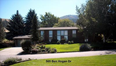 Missoula Single Family Home Under Contract Taking Back-Up : 505 Ben Hogan Drive