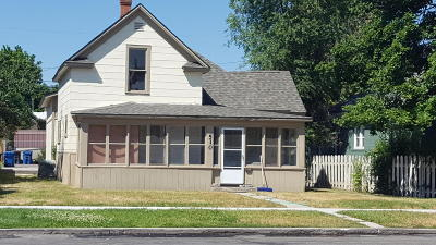 Missoula Single Family Home Under Contract Taking Back-Up : 510 South 5th Street West