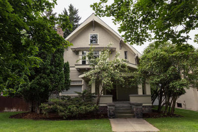 Missoula Single Family Home Under Contract Taking Back-Up : 539 University Avenue
