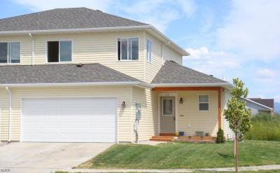 Kalispell MT Single Family Home Under Contract Taking Back-Up : $195,000