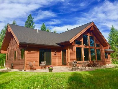 Flathead County Single Family Home For Sale: 455 Trapline Trail