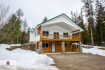 Lincoln County Single Family Home Under Contract Taking Back-Up : 12646 Bull Lake Road