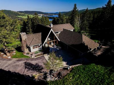 Kalispell MT Single Family Home For Sale: $850,000