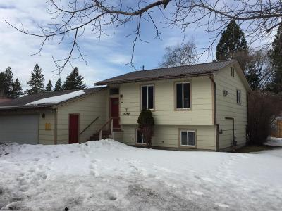Flathead County Single Family Home Under Contract Taking Back-Up : 486 7th Ave E North