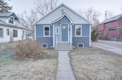 Missoula Single Family Home Under Contract Taking Back-Up : 1434 Cooper Street