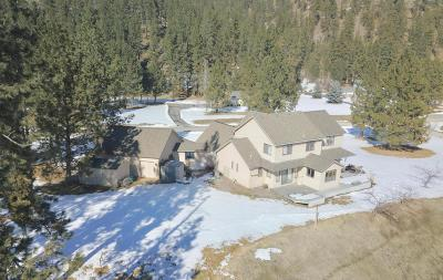 Missoula Single Family Home Under Contract with Bump Claus: 2395 Clydes Dale Lane