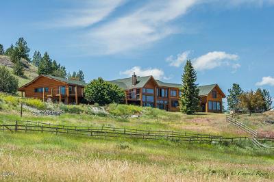 Dayton Single Family Home For Sale: 100 Hog Heaven Cattle Company Road