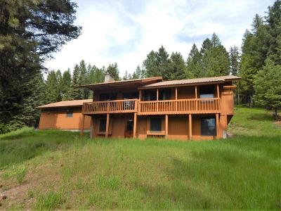 Seeley Lake MT Single Family Home For Sale: $239,000