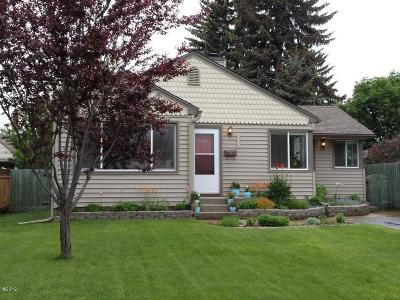 Kalispell Single Family Home Under Contract Taking Back-Up : 1340 8th Avenue East