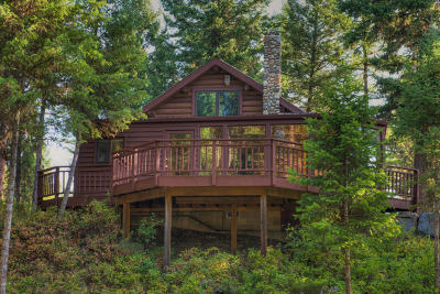 Flathead County Single Family Home Under Contract Taking Back-Up : 315 Notta Road
